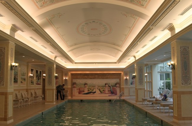 Indoor Pool at Hong Kong Disneyland Hotel