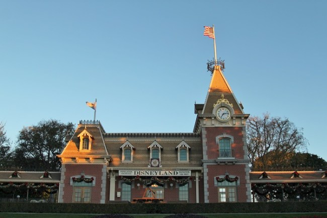 Disneyland Main Street Station
