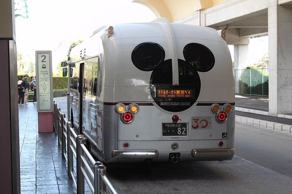 Tokyo Disney Resort Cruiser Rear View