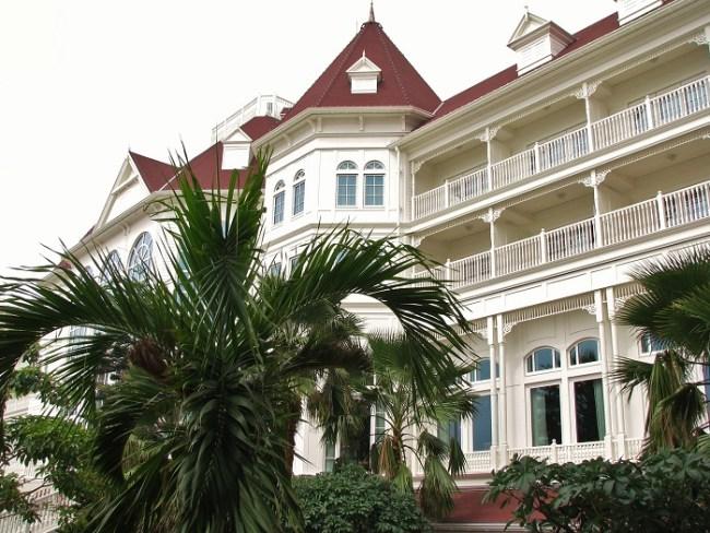 Hong Kong Disneyland Hotel Exterior