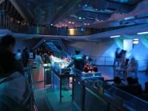 Space Mountain Platform at Tokyo Disneyland