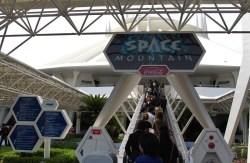 Space Mountain Entrance at Tokyo Disneyland