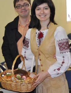 Iryna Shyroka and husband Stan Gueller. Photo courtesy of Iryna Shyroka