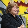 Dr. Aleida Guevara gives speeches around the world about her father's teachings.
