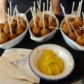 Bitterballen, a Dutch snack served at events such as Queen&#039;s Day, is popular amongst the Dutch and others. - Photo by Erna van Balen