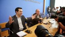 Alexis Tsipras, head of Greece's Syriza party. | Photo courtesy of Fraktion DIE LINKE im Bundestag