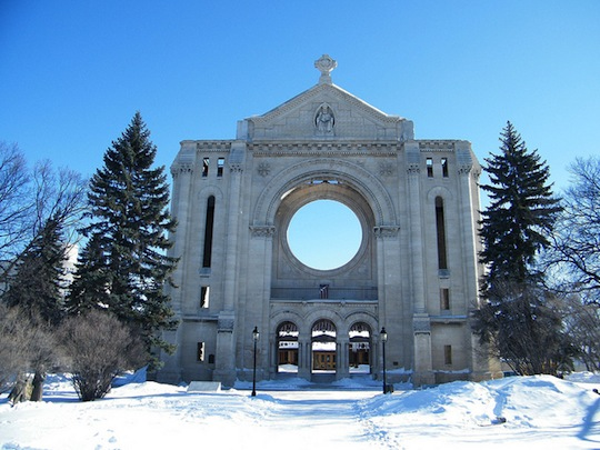 Cathédrale Saint-Boniface - Photo par Jordon Cooper, Flickr