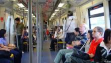 L'intérieure du métro. | Photo par iambents