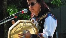 La conteuse Squamish Wendy Charbonneau. | Photo par Flick Harrison