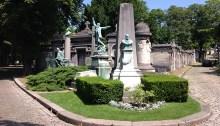 Le cimetière du Père Lachaise à Paris. | Photo par Pascal Guillon