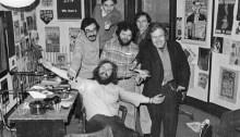 La famille Co-op Radio en 1978. | Photo par Co-op Radio Archives