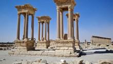 Les ruines de Palmyra. | Photo par Pierre Grenier