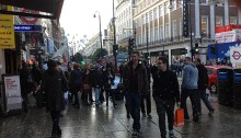 Touristes à Londres. | Photos par Pascal Guillon