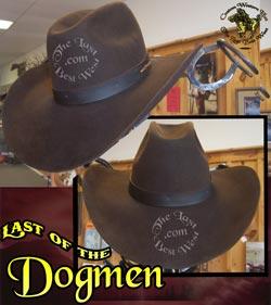 Last of the Dogmen Handmade Hat