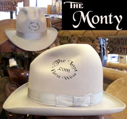 Monty Custom Handmade Dress Hat