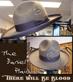 Daniel Plainview hat