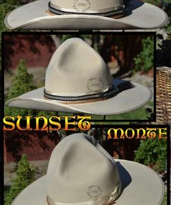 Sunset Monte Custom Handmade Hat