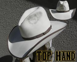 Top Hand Custom Handmade Hat