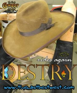 Destry Rides Again Movie Hat