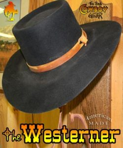 Westerner Movie Hat