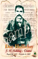 Posters of Doc Holliday