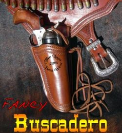 Fancy Buscadero Leather Holster