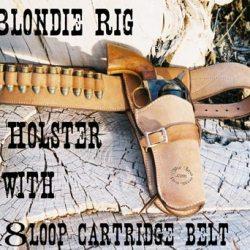 Blondie Holster Heavy Cartridge Belt