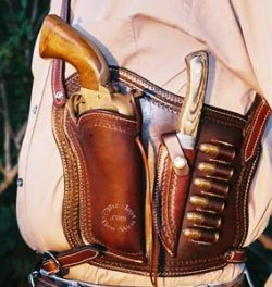 Combination Shoulder Holster