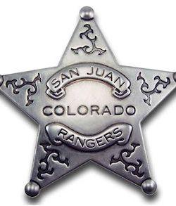 San Juan Colorado Rangers Badge