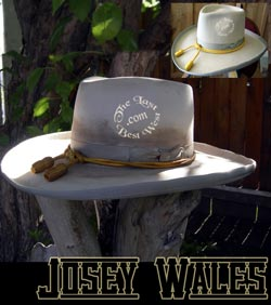 Custom Cowboy hats - the Josey Wales movie hat