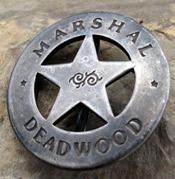 Old West Marshal Badges