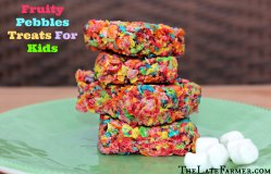 Small Of Fruity Pebble Treats