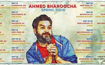 Ahmed Bharoocha tour
