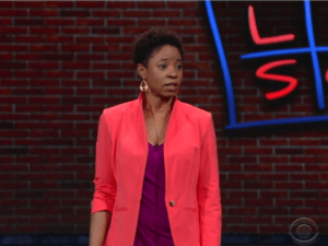 Marina Franklin on The Late Show with Stephen Colbert