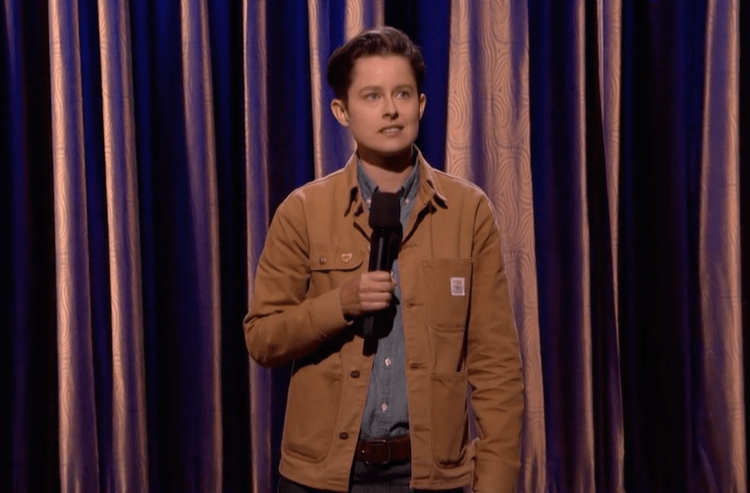 "Rhea Butcher on Conan, ""When I wear a FitBit it just counts wishes"""