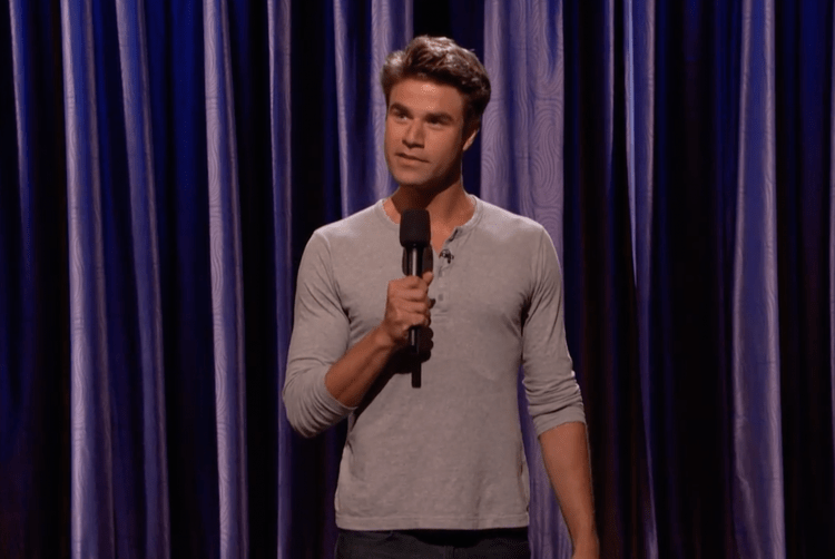 "Matt Broussard on Conan, ""I recently joined a support group for people who peaked in High School"""