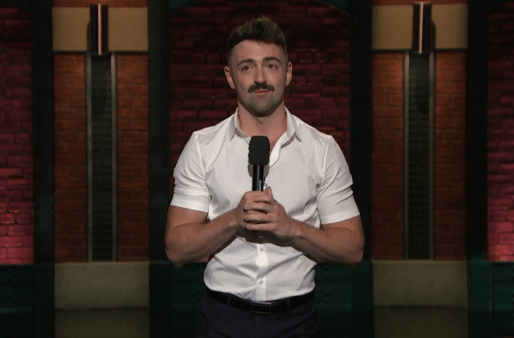 "Matteo Lane on Late Night, ""I have deli face but with a gay voice"""