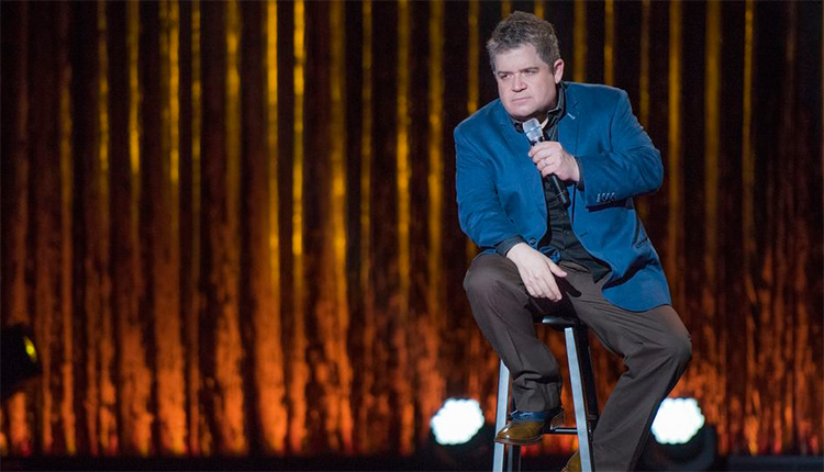 Patton Oswalt to return to stand-up after the sudden death of his wife earlier this year