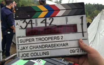 Super Troopers 2 filming