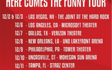 Here Comes The Funny Tour