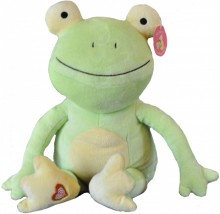 stuffed frog, frog plush