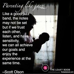 parenting like jazz
