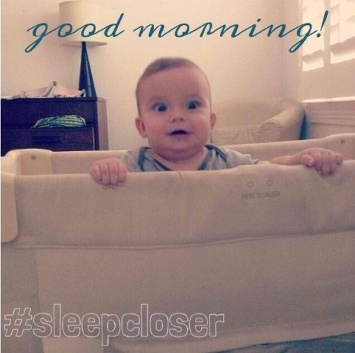 good morning cosleeper