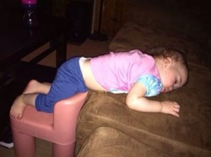 sleeping on chair and couch