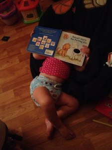 sleeping with book
