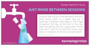 Pump like a pro with Snugabell PumpEase breast pumping tip