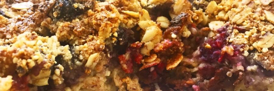 Berry Oatmeal Crumble