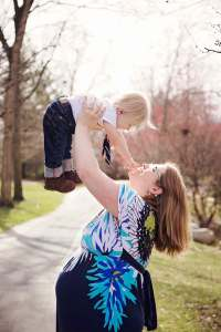 guest post, leaky to leaky, pregnant photo