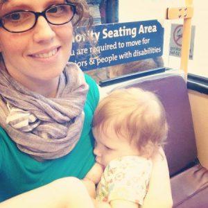 Jessica bfdg on train