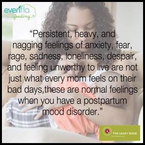 postpartum depression postpartum anxiety
